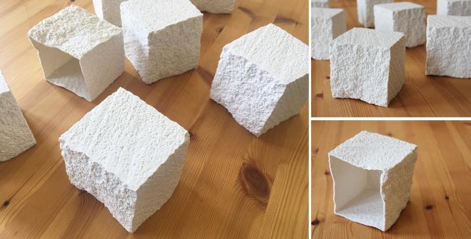 Porcelain polystyrene