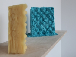 Wax cast and silicone mould