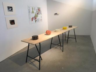 Display at the San Fransisco Art Institute (SFAI), MFA Exhibition 17 - 27 May 2019